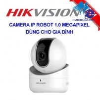 CAMERA robot IP WIFI 1.0 MP  HIKVISION XOAY 360 ĐỘ  DS-2CV2Q01EFD-IW