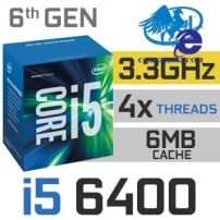 Intel® Core™ i5-6400 Processor (6M Cache, up to 3.3 GHz)-Skylake