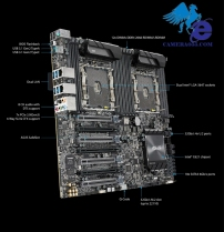 Mainboard ASUS WS C621E SAGE (Dual CPU Workstations)