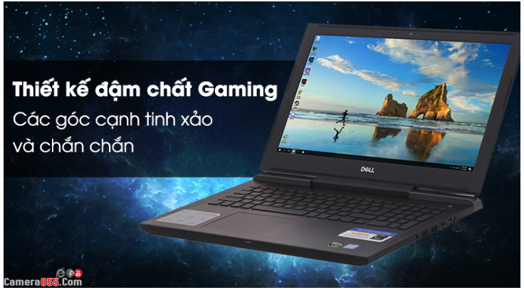 "Laptop Dell G7 7588-N7588A (15.6"" FHD/i7-8750H/8GB/1TB HDD/GTX 1050Ti/Win10/2.7 kg)"