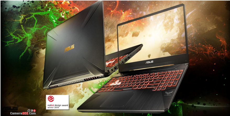 Laptop Gaming Asus TUF FX505DD-AL186T Geforce GTX 1050 3GB Ryzen 5-3550H 8GB 512GB 15.6″ 120Hz IPS Win 10 Gold Steel RGB
